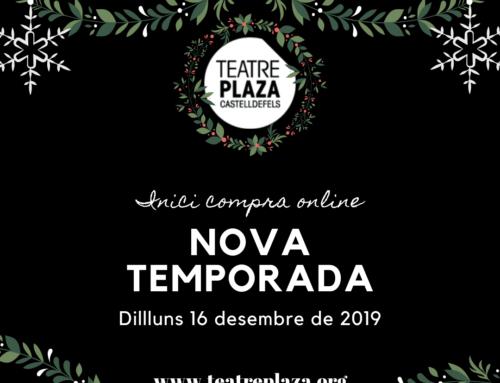 Aquest Nadal regala Cultura, regala Teatre Plaza