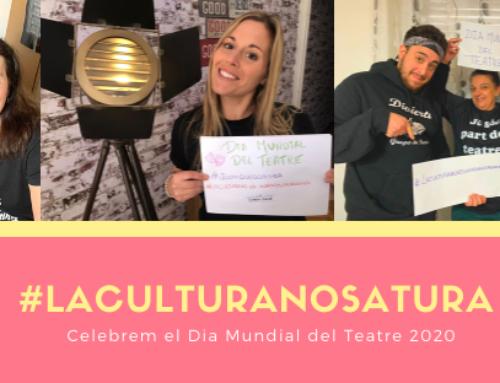 Celebrem el Dia Mundial del Teatre