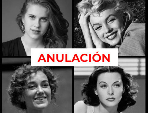 Anulación ensayo con público Monroe-Lamarr