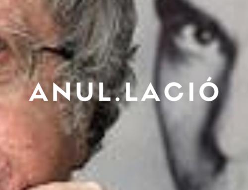 """Anul.lació espectacle: """" Como canta un poeta """". Ian Gibson i la poesía de Lorca"""