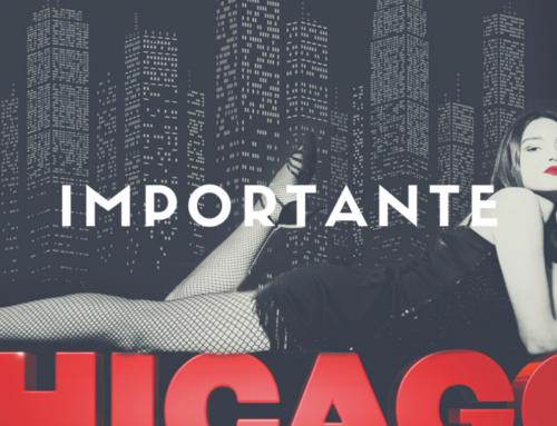 Error link de compra espectáculo Chicago